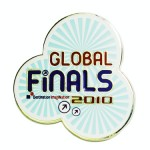 Destination Imagination Global Finals official lapel pin created by Lasting Impressions