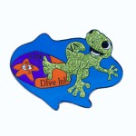 Custom Destination Imagination Lapel Pin created by Lasting Impressions