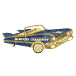 Missouri Destination Imagination custom lapel pin Blinkie Blinky Lapel Pin created by Lasting Impressions