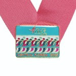 Susan G. Komen Race for the Cure custom Lapel pin Central Florida Lasting Impressions
