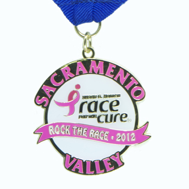 Susan G. Komen Race for the Cure Sacramento Race Medal Lasting Impressions