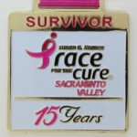 Susan G. Komen Race for the Cure Sacramento Valley Custom Medals Lasting Impressions