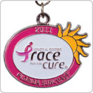 Breast Cancer Awareness medal