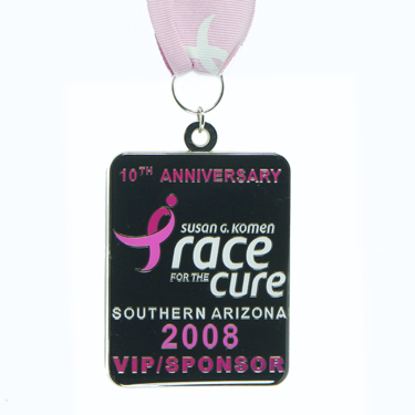 Susan G. Kmen Race for the Cure Arizona Finisher Medals and Ribbons Lasting Impressions